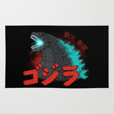 Mighty Kaiju Gojira Rug