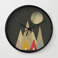 paradise Wall Clocks featuring paradise by bri.buckley