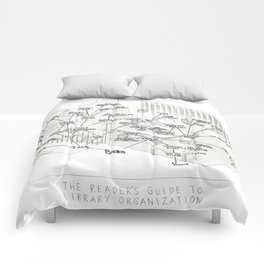 The Unfinished Library Comforters