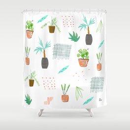 Botanica Pattern Shower Curtain
