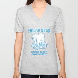 Molar Bear! - Gift Unisex V-Neck