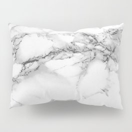 Marble - Gray Pillow Sham