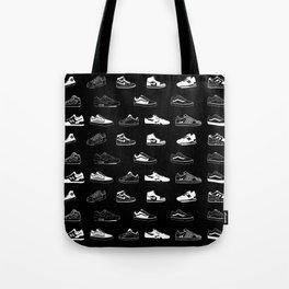 Black Sneaker Tote Bag