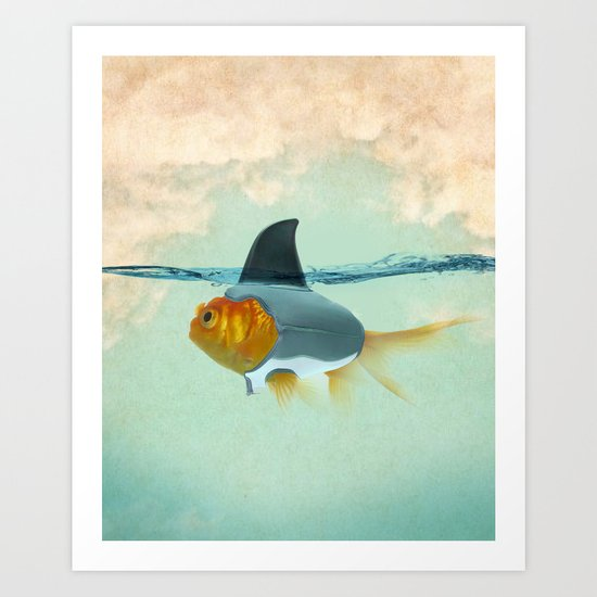 perfect disguise Art Print