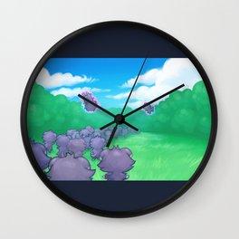 Exodus of Cats Wall Clock
