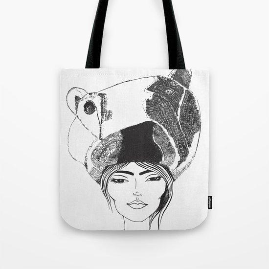 PolarGirl Tote Bag