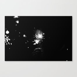 there's magic in moments Canvas Print