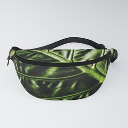 Rib And Veins Fanny Pack