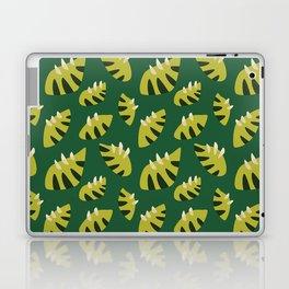Pretty Clawed Green Leaf Pattern Laptop & iPad Skin