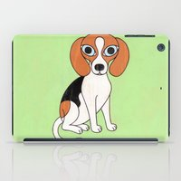 beagle iPad Cases featuring Beagle by Matthew Porter
