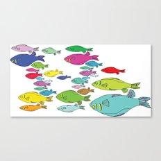 FISHpaint Canvas Print