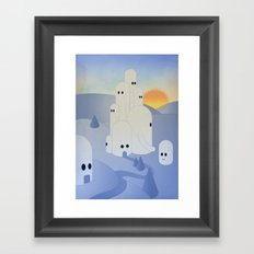 c i t t à v i s i b i l e Framed Art Print