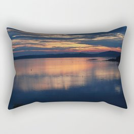 Campobello Island, Bay of Fundy Sunset Rectangular Pillow