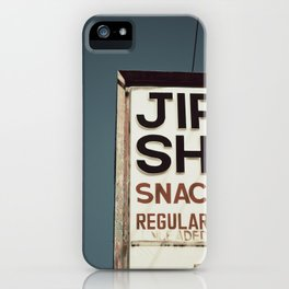 Jiffy Shop iPhone Case