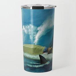 Sleeping with Sharks Travel Mug