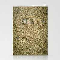 seashell Stationery Cards featuring Seashell by Errne