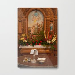 Holy communion Metal Print