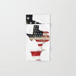 TEXAS FLAG Hand & Bath Towel
