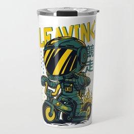 Leaving Area 51 Travel Mug