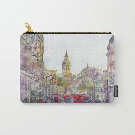 London Street 1 by Jennifer Berdy Carry-All Pouch
