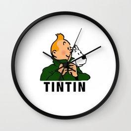 tintin advanture Wall Clock