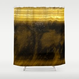 Tiger Eye Shower Curtain
