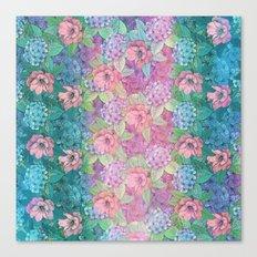 Summertime Flowers Canvas Print