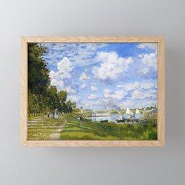 Argenteuil Basin - Claude Monet Framed Mini Art Print