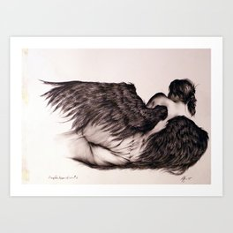 Angels Never Know #3 Art Print