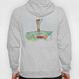 hang 10 surf dude Hoody