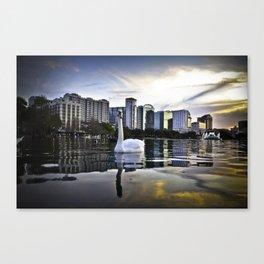 Lake Eola - Orlando, FL Canvas Print
