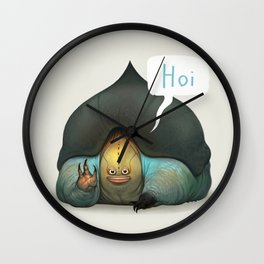 Seymour the Ankle Smoocher Wall Clock