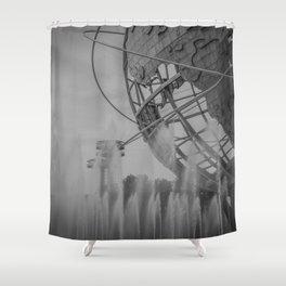 flushing... Shower Curtain