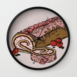 J is for Jelly Roll Wall Clock