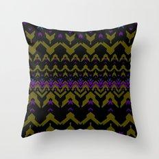 Sweater Pattern Throw Pillow