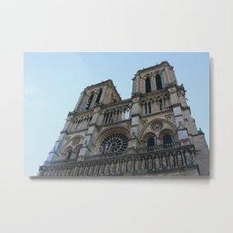 Paris 1- Notre Dame Metal Print