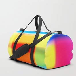 Colored blur background 7 Duffle Bag