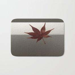 Last Leaf of Autumn Bath Mat