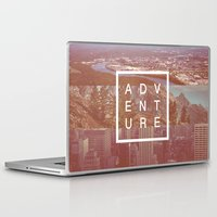 adventure Laptop & iPad Skins featuring Adventure by Zeke Tucker