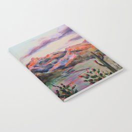 Tucson Sunset by the Catalina foot hills - Thimble peak Notebook