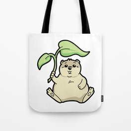 Little Chubby Happy Gopher Shading Itself Tote Bag
