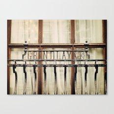 London Grille Canvas Print