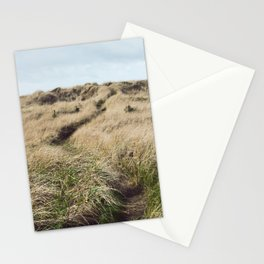 Oregon Dune Grass Adventure - Nature Photography Stationery Cards
