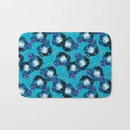 Pretty Anemone Pattern Bath Mat