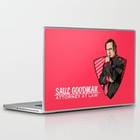 lawyer Laptop & iPad Skins featuring You need a lawyer? by Akyanyme