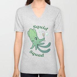 Squid Squad Unisex V-Neck