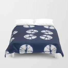 Indigo Blue Tie Dye Fantasy Duvet Cover