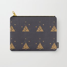 Winter Abstract Christmas Tree Pattern Carry-All Pouch