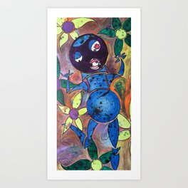 flower frolicker Art Print