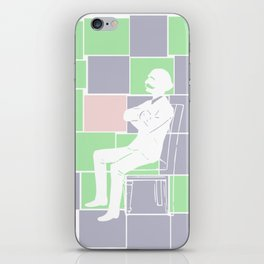 Think there and be square iPhone Skin